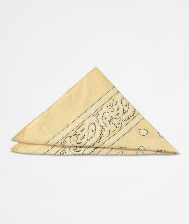 Stone + Locket bandana beige clásica
