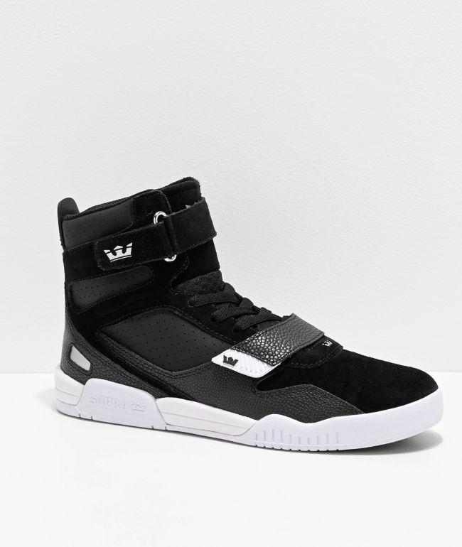 Supra Breaker Black \u0026 White Skate Shoes