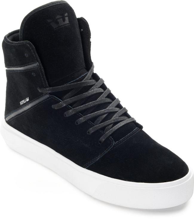 Supra Camino Black \u0026 White Skate Shoes