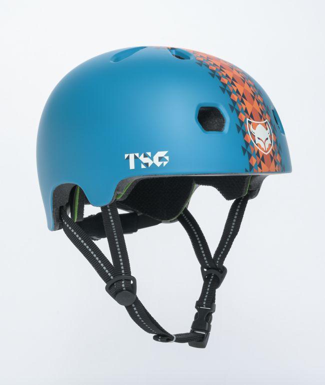 TSG Certified Meta Roots Blue Multi-Sport Helmet