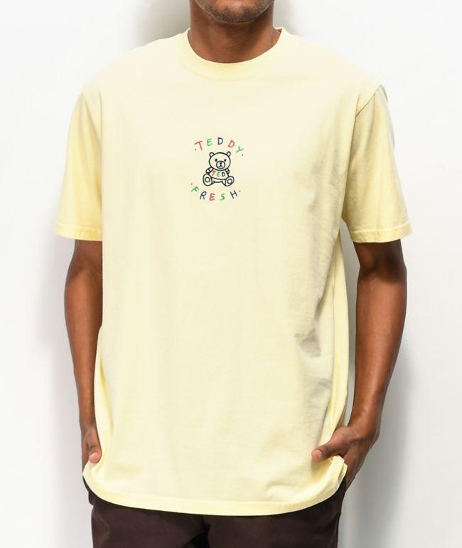 Teddy Fresh Embroidery Buttercup camiseta amarilla