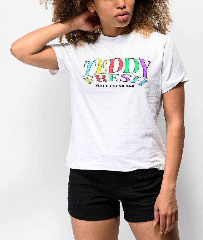 Teddy Fresh Gimme Teddy camiseta blanca
