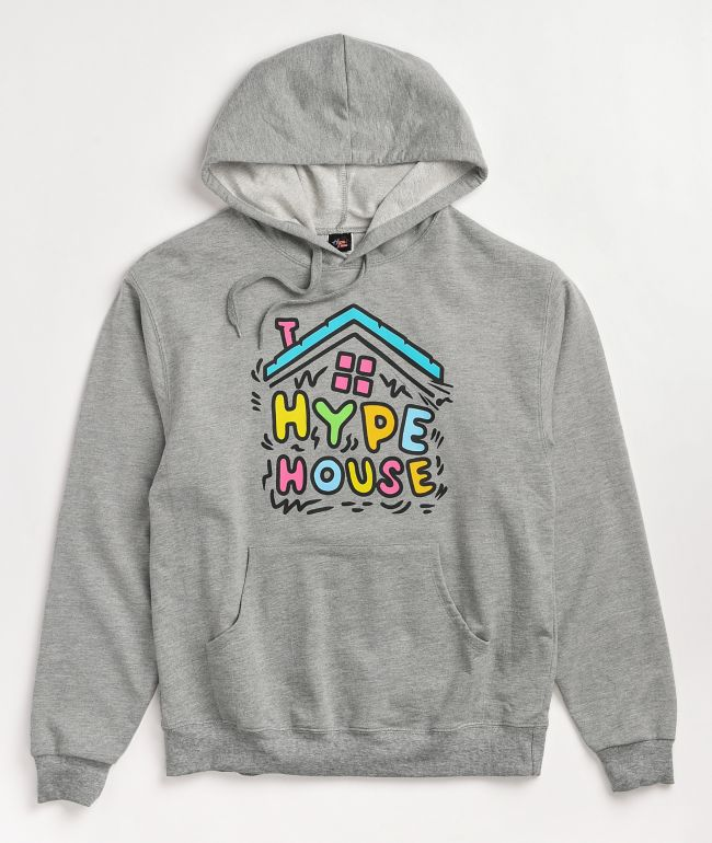 The Hype House Shake Grey Hoodie