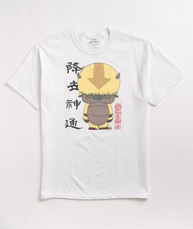 The Last Airbender Appa White T-Shirt