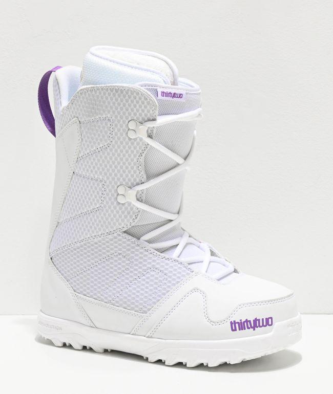 ThirtyTwo Exit 2020 botas de snowboard blancas para mujeres