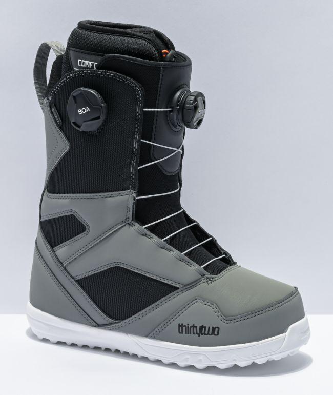 ThirtyTwo STW Grey Snowboard Boots 2021
