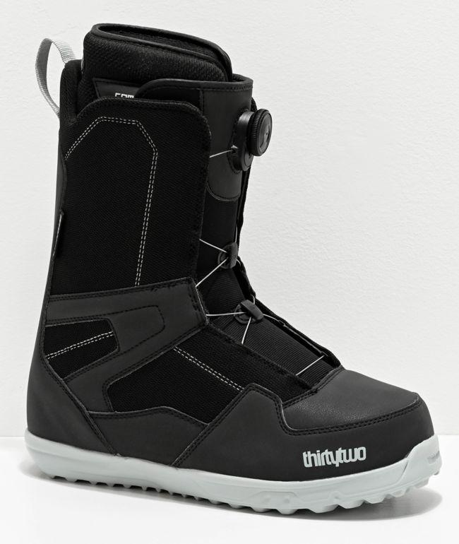 ThirtyTwo Shifty Boa Black Snowboard Boots 2020