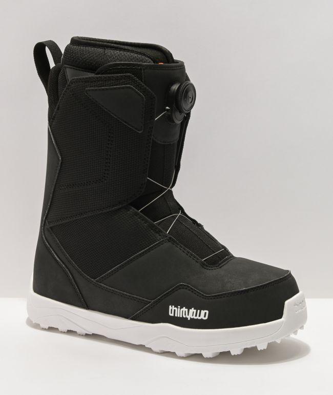ThirtyTwo Shifty Boa Black Snowboard Boots 2021