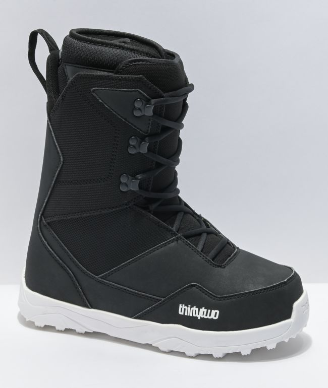 ThirtyTwo Shifty Lace Black Snowboard Boots 2021