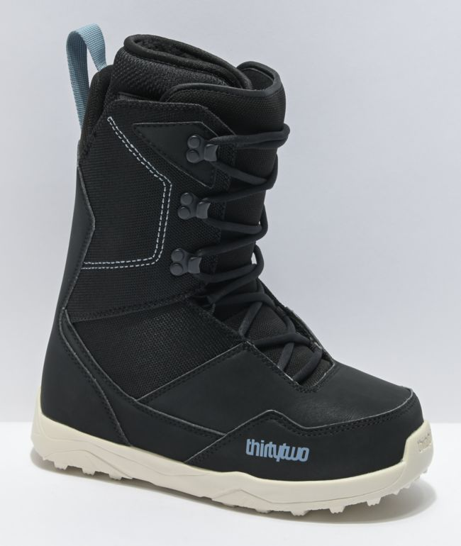 ThirtyTwo Shifty Lace Black Snowboard Boots Women's 2021