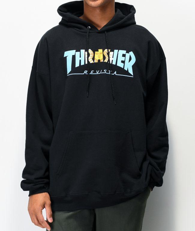 Thrasher Argentina Black Hoodie