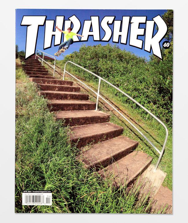 Thrasher Magazine April 2021