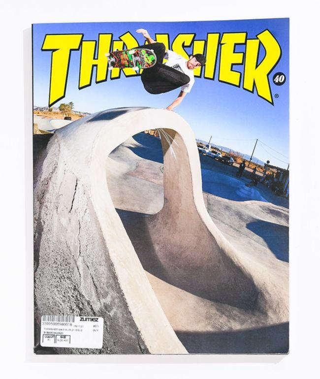 Thrasher Magazine August 2021