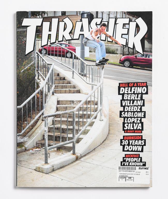 Thrasher Magazine December 2020