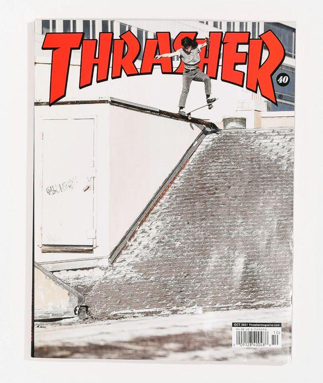 Thrasher Magazine October 2021