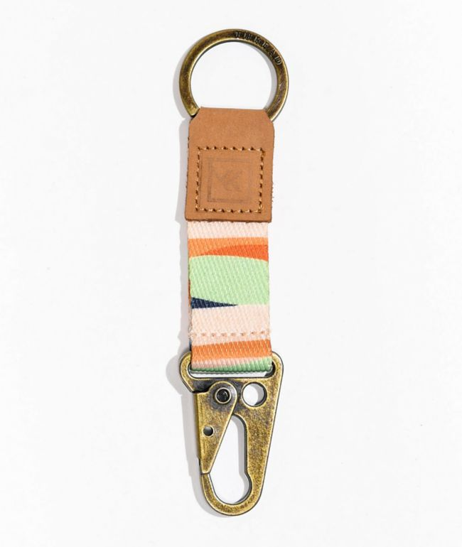 Thread Tides Keychain Clip