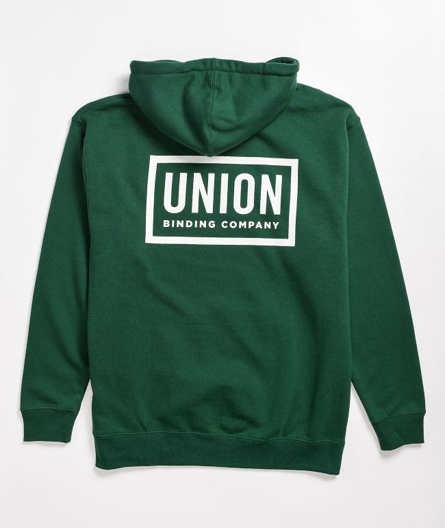 Union Team Green Hoodie