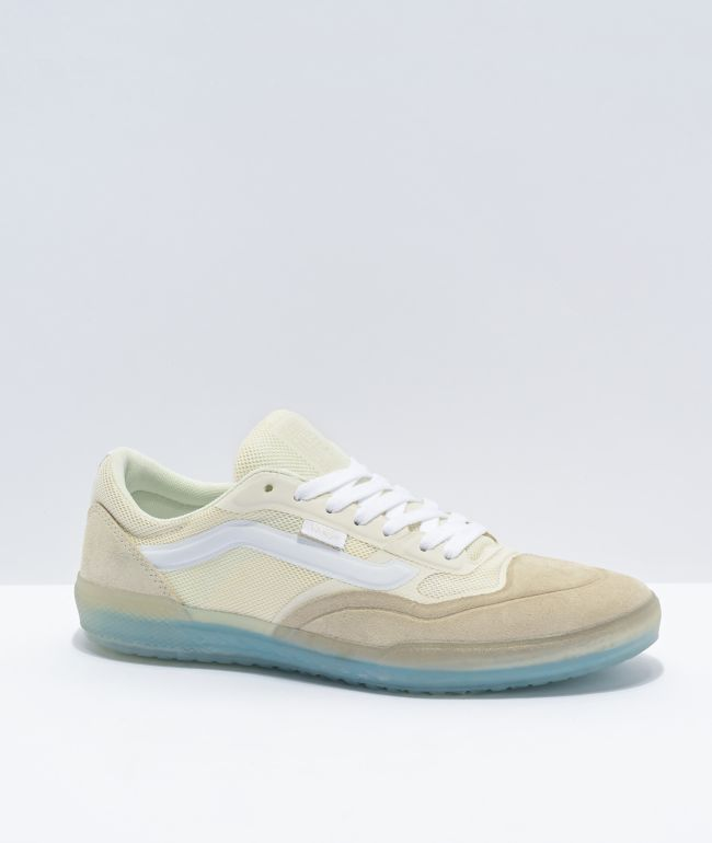 Vans A.V.E. Pro Marshmallow White Skate Shoes
