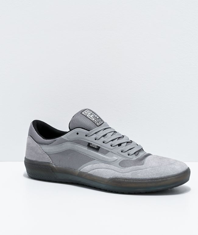 Vans A.V.E. Pro Reflective Grey & Grey Skate Shoes
