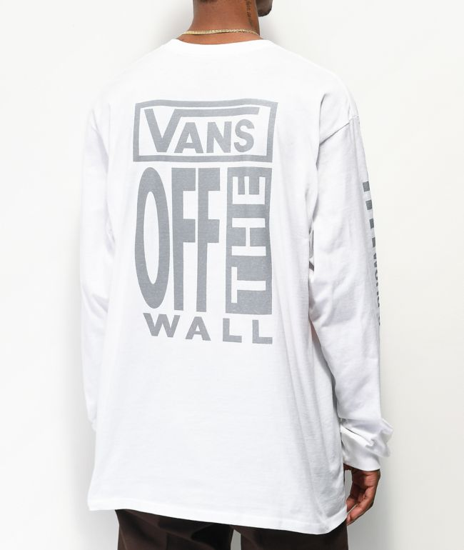 Vans A.V.E. White Long Sleeve T-Shirt