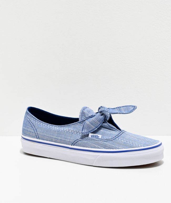 Vans Authentic Knotted Lace Chambray
