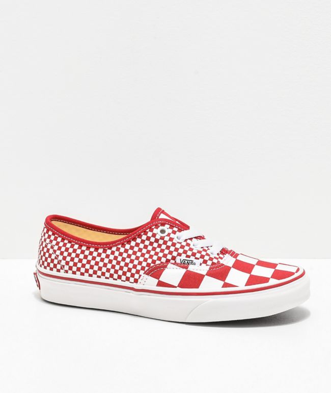 Vans Authentic Mixed Chili Red