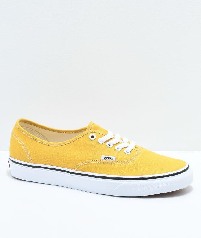 Vans Authentic Ochre \u0026 White Skate