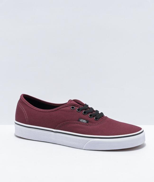 Vans Authentic Port Royale & Black Skate Shoes