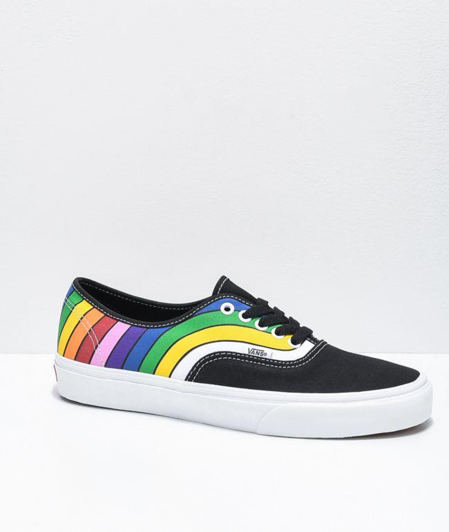 vans authentic sf retro rainbow