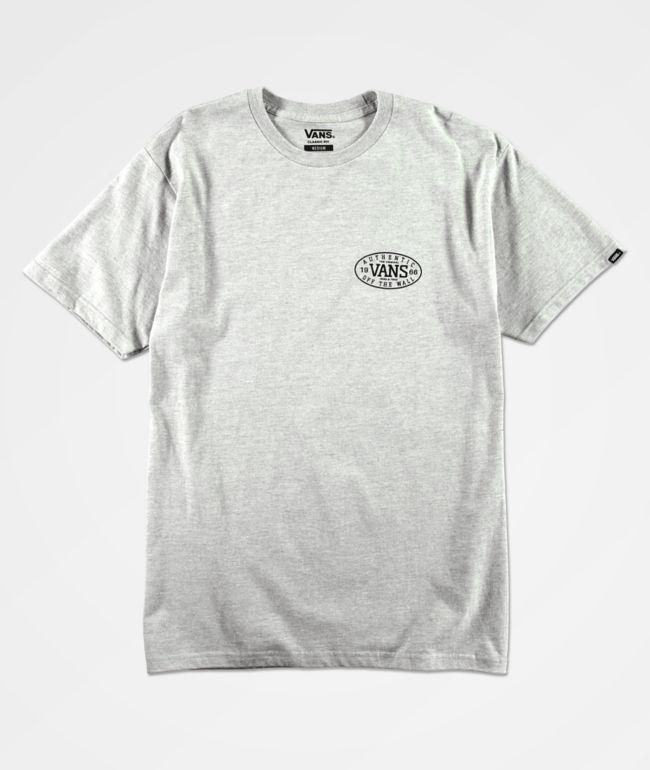 Vans Authentic Tried & True Grey T-Shirt