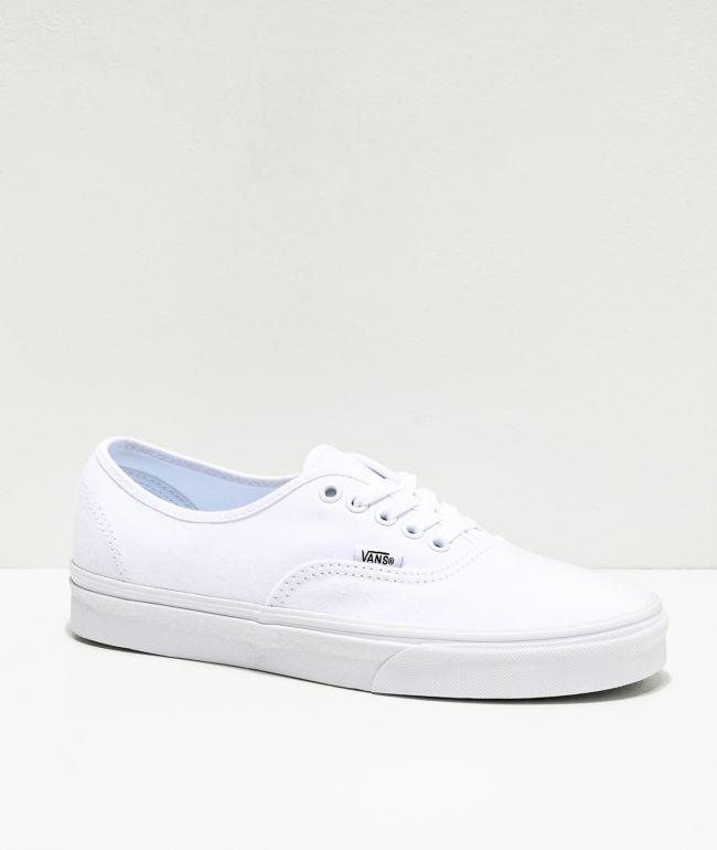 Vans Authentic zapatos de skate en blanco