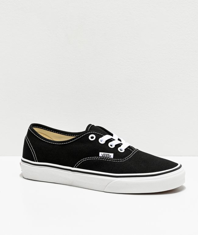 Vans Authentic zapatos de skate negros