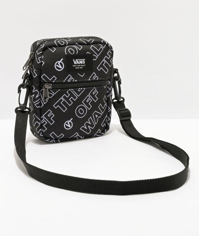 Vans Bail Dimension Black Shoulder Bag