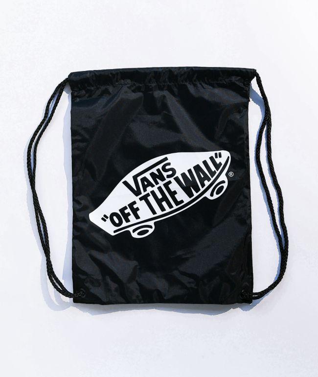 Vans Benched Black Cinch Bag