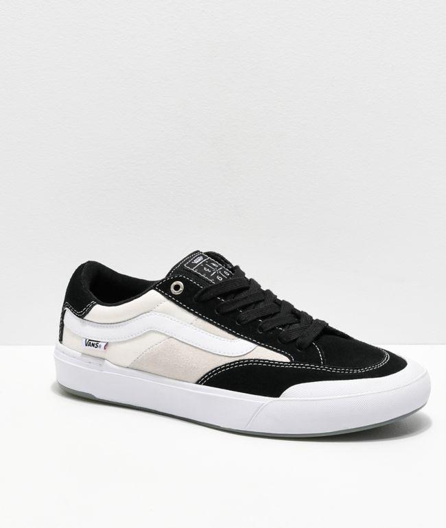 Vans Berle Pro Black \u0026 White Suede