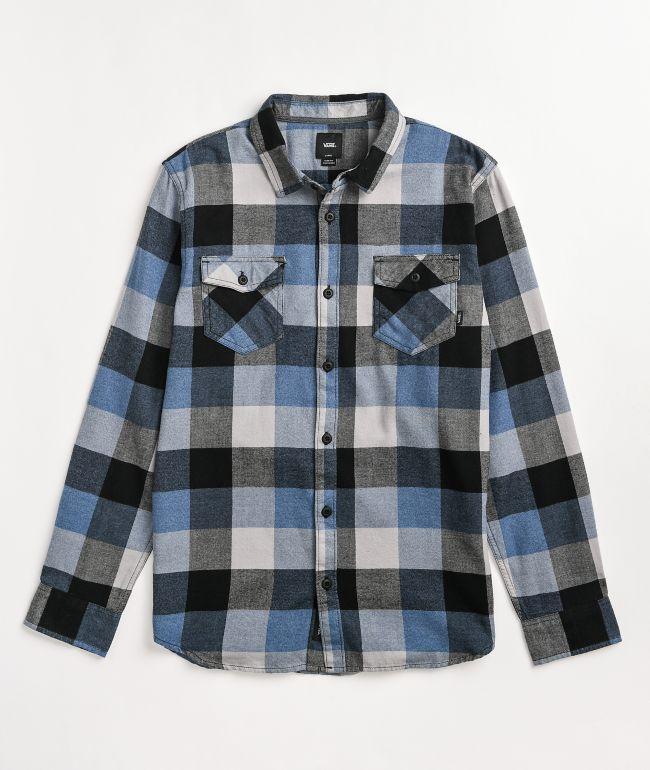 Vans Box Blue Flannel Shirt