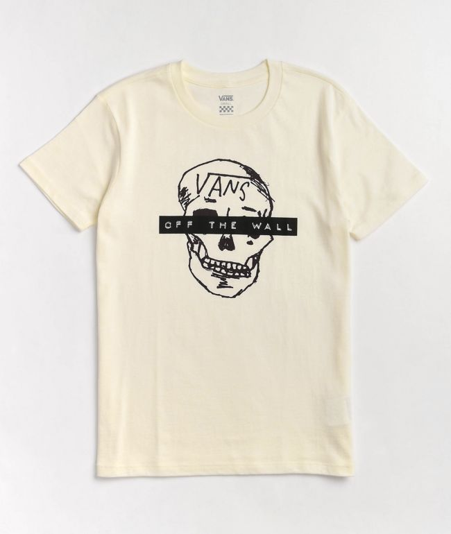 Vans Breana Skull White T-Shirt
