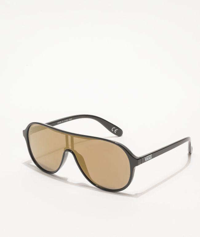Vans Bremerton Checkerboard Black Sunglasses