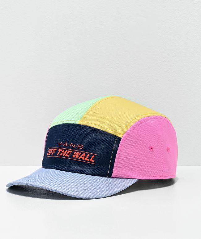 Vans Camper Colorblock 5 Panel Strapback Hat