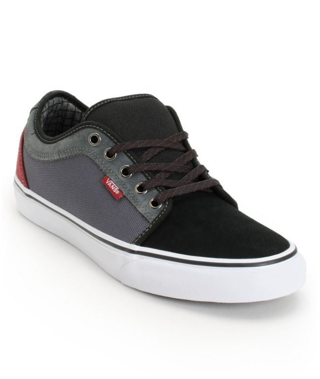 Vans Chukka Low Black, Dark Grey
