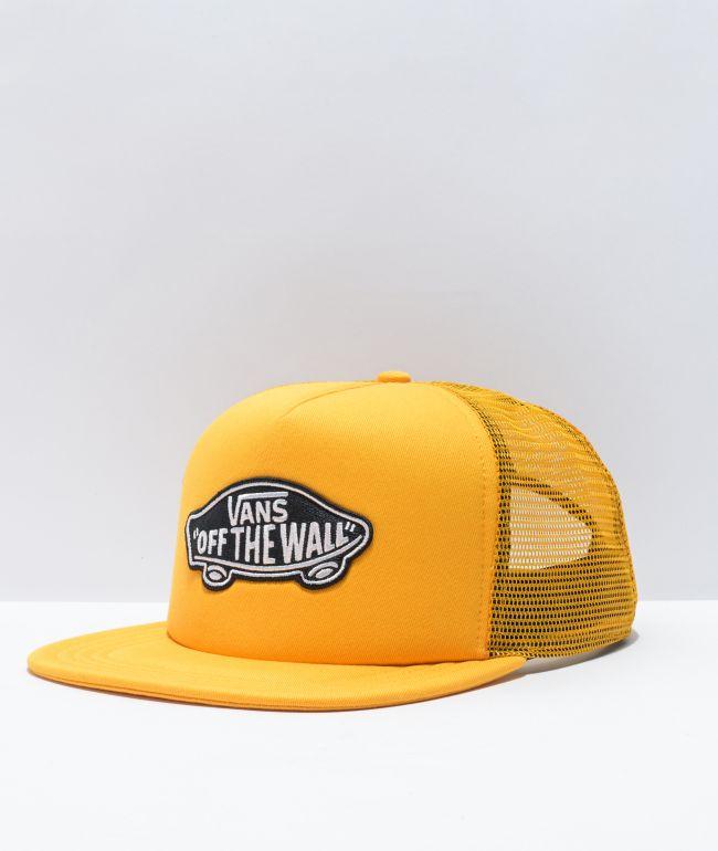 Vans Classic Patch Yellow & Black Trucker Hat