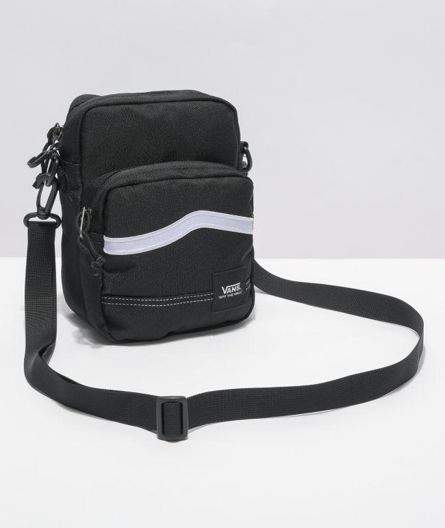 Vans Construct Black Shoulder Bag