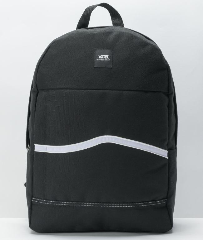 Vans Construct Skool Black Backpack