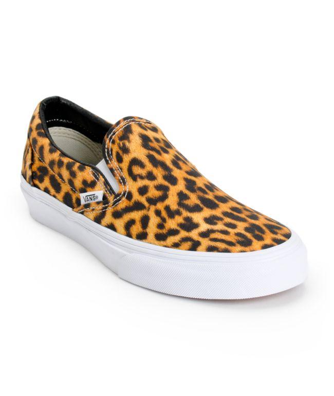 Vans Digi Leopard Slip On Shoes | Zumiez