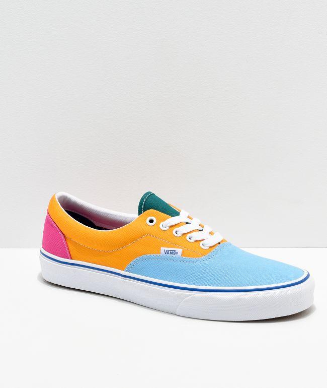 Vans Era Bright Color Blocked Skate
