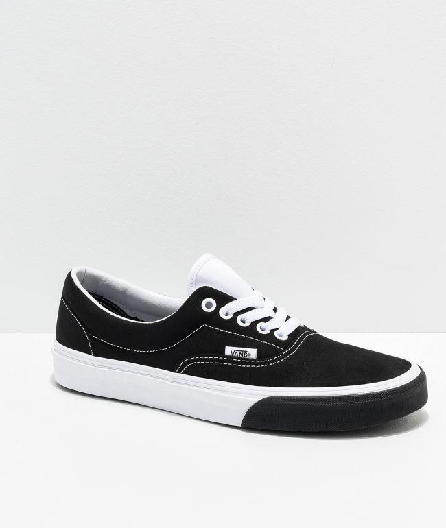 Vans Era Color Block Black \u0026 White