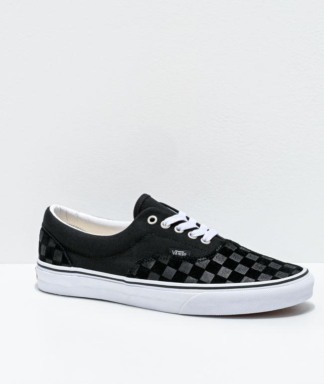 Vans Era Deboss Black \u0026 White