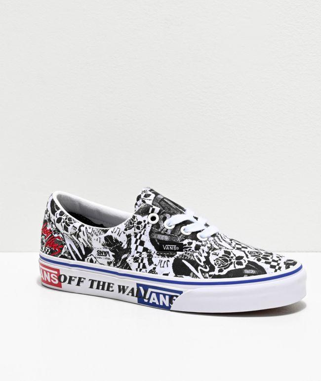 Vans Era Lady Vans White \u0026 Black Skate