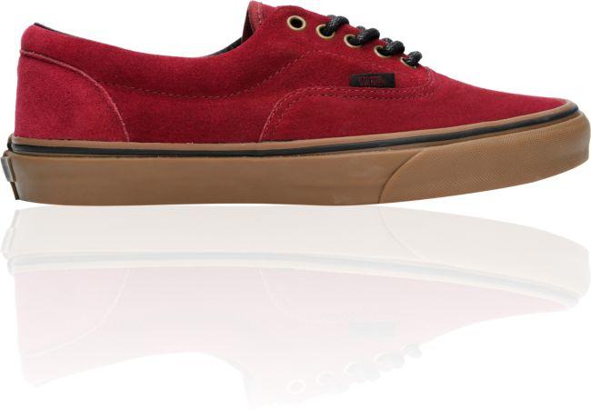 Vans Era Tawny Port & Gum Suede Skate Shoes | Zumiez