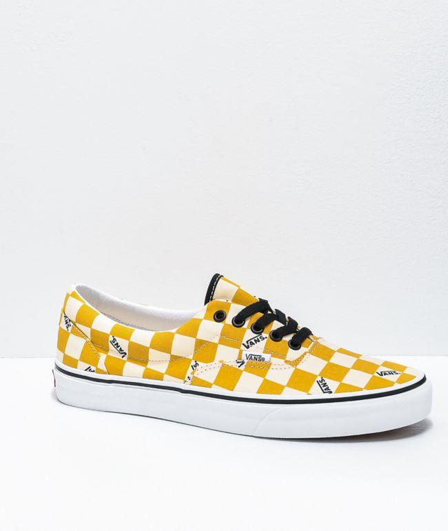 Vans Era Yolk Yellow \u0026 White Big